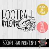 Football Mom Flowers
