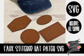 Hat Patch Templates [SVG]