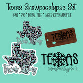 Texas Snowpocalypse Set