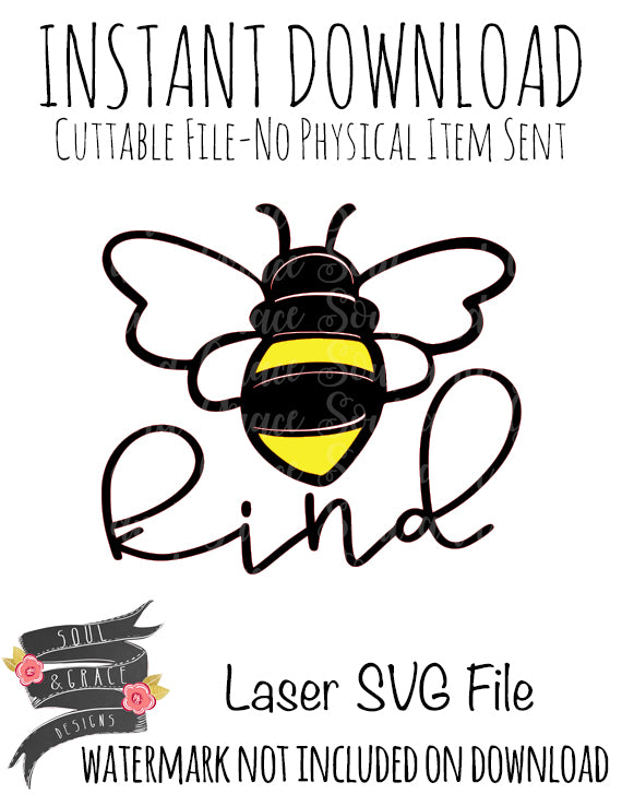 Bee Kind [SVG]