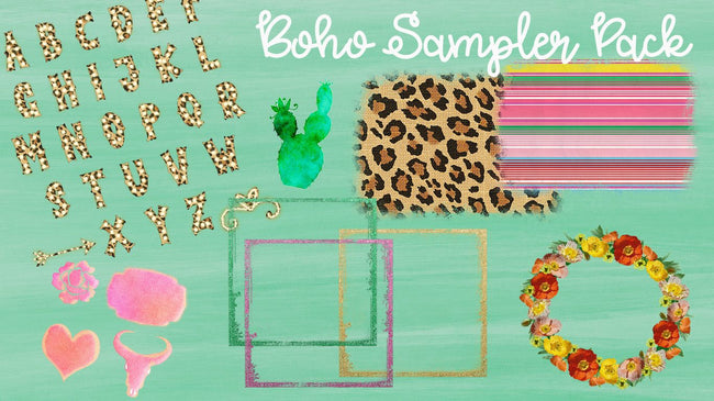 Boho Designer Sampler Set