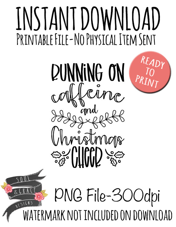 Running on Caffeine and Christmas Cheer