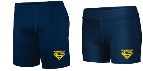 Saline Wrestling Compression Short Adult & Ladies
