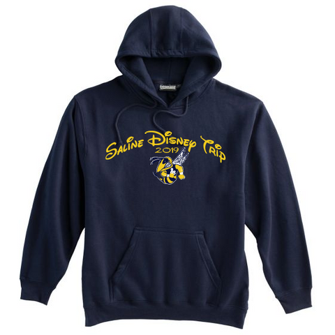 Saline Music Boosters Disney Hoodie; Adult and Youth