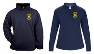 Saline Bowling B-Core 1/4 Zip Pullover: Adult, Ladies
