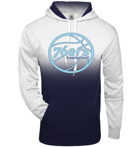 76ers Ombre Hood Adult & Youth
