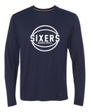 76ers Tech Performance Long Sleeve
