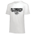 PWW White Triblend Short Sleeve Tee