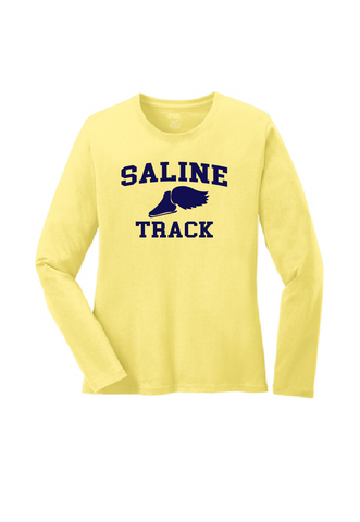 SHS T&F Throwback Ladies Long Sleeve Tee