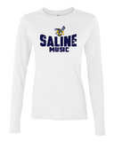 Saline Music Boosters Ladies Long Sleeve Tee