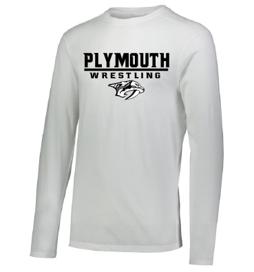 PWW  White Triblend Long Sleeve Tee