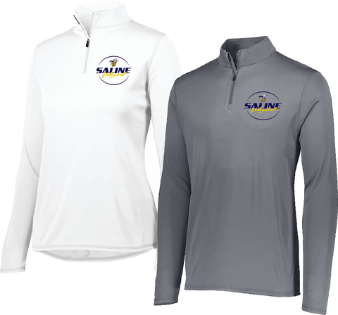 Saline VB Lightweight 1/4 Zip Pullover: Adult and Ladies Sizes