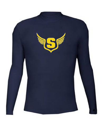 SHS T&F B-HOT Compression Long Sleeve Mock