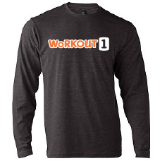 Workout1: Retro Soft T-Shirt LONG Sleeve