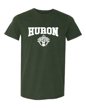 Huron Soccer Short Sleeve Classic Tee: adult/ladies/short/long