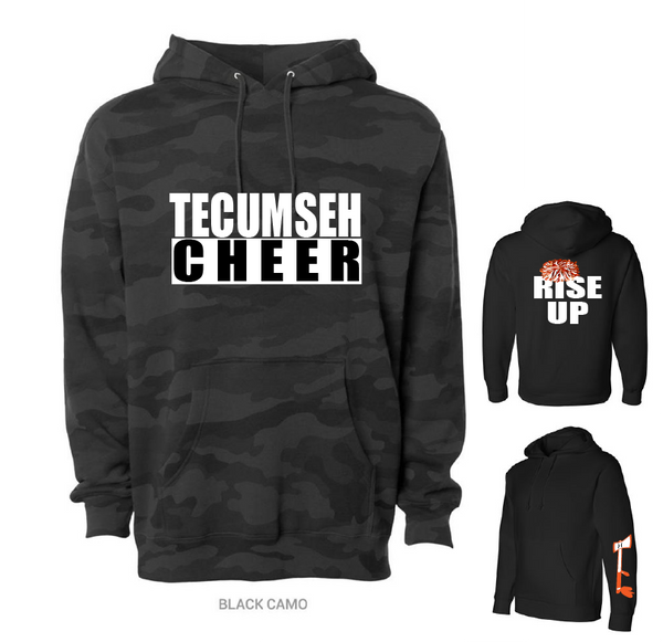 THS Cheer Camo Hoodie *REQUIRED