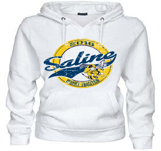 Hornet Nation Vintage Ladies V-Notch Hoodie