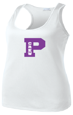 Pioneer Crew Sleeveless Training Tee: Ladies