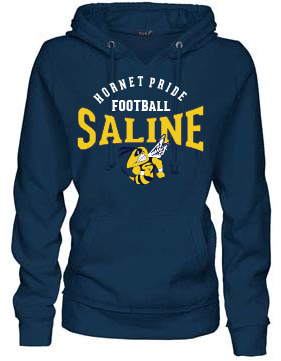 Football Mom Style: V Notch Hoodie