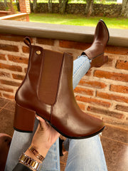 Classic Dark Brown Boots