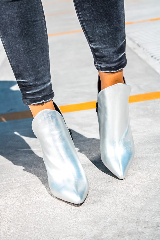 Elton Boots Silver