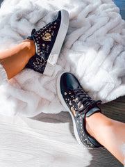 Sneakers Love You Black & Gold