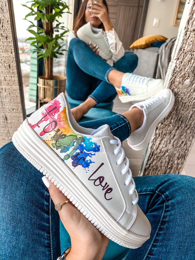 Love is Love Sneakers Personalizables