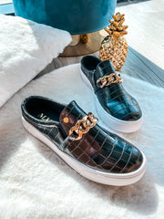 Darcy Sneakers Black Coco & Gold