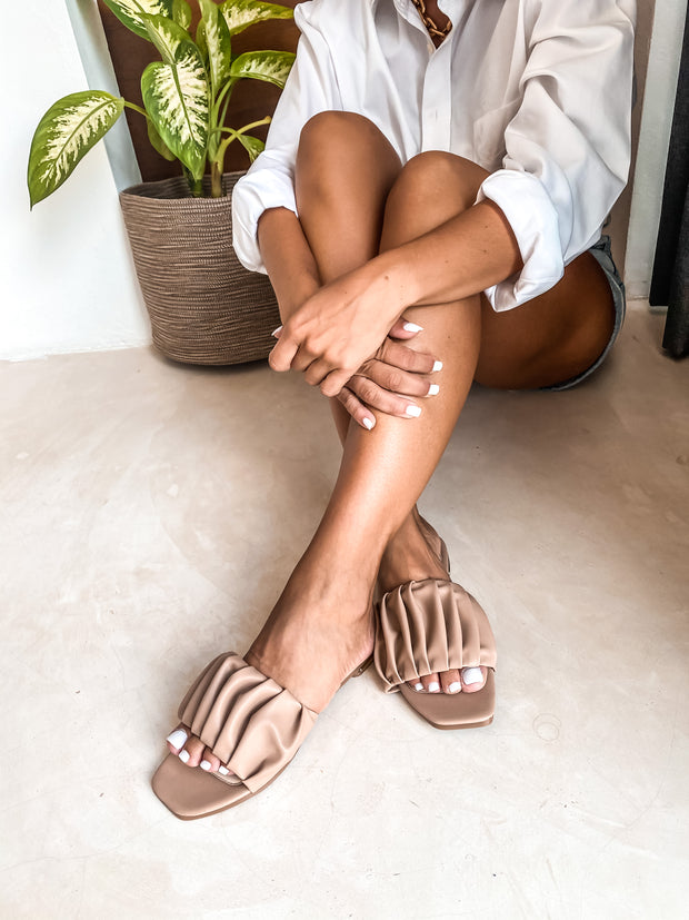 Izzie Sandals Nude