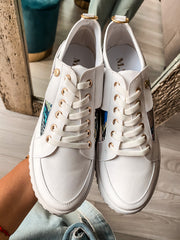 Leigh Sneakers Avatar & White