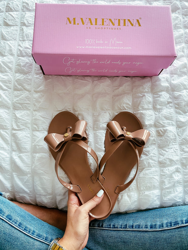 Madison Jelly Sandals Nude