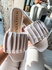 Izzie Sandals White