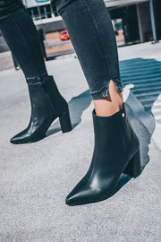 Blooming Boots Black