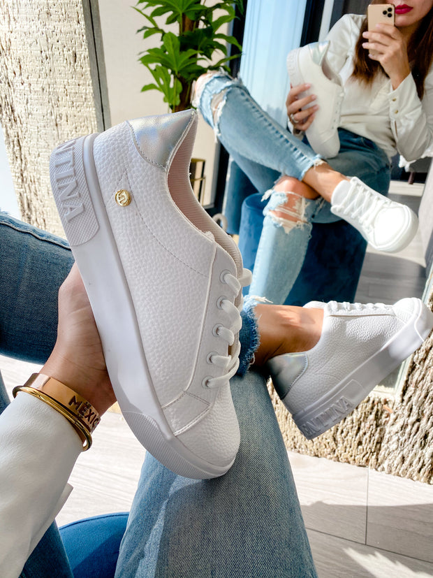 Sneakers Brooklyn M. Valentina Silver