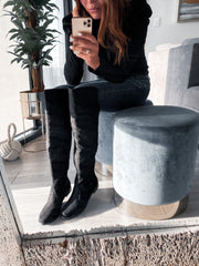 Rebel Boots Black Swede
