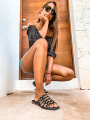 Teagan Sandals Black