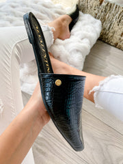 Kicker Mules Black Coco