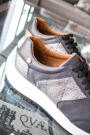 Sneakers Barcelona Grey & Snake