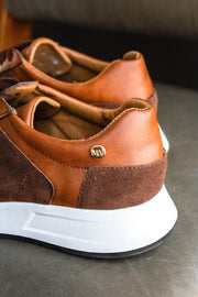 Sneakers Barcelona Brown Swede