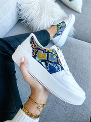 Sneakers Boston White Avatar Snake