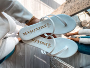 Sandalias cannes color blanco