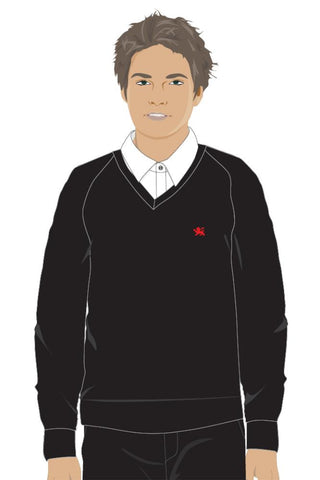 PHES SIXTH FORM JUMPER - BLACK