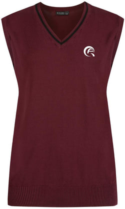AWSAJ COTTON TANK TOP - MULBERRY & BLACK - AWSAJ