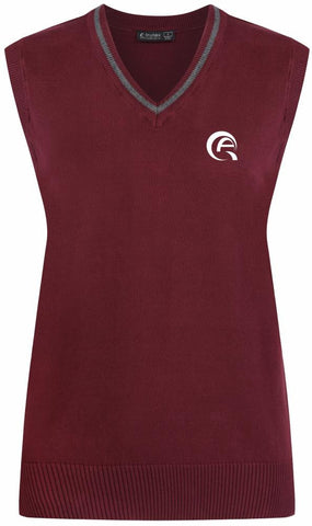 QAW COTTON TANK TOP - MULBERRY & GREY - WAKRA