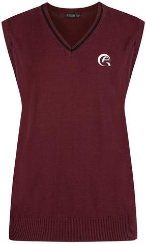 QAD COTTON TANK TOP - MULBERRY & BLACK - DOHA