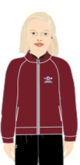 ORYX INTER FLEECE MAROON