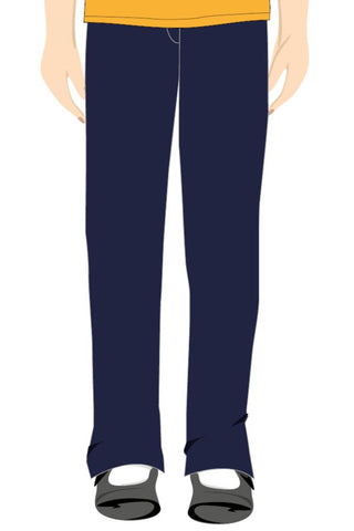 QFIS GIRLS JUNIOR TROUSERS - NAVY