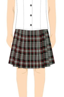 ORYX GIRLS TARTAN SKIRT