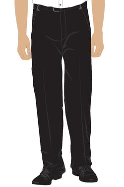 PHES BOYS SIXTH FORM TROUSERS - BLACK