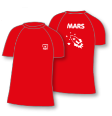 ORYX HOUSE T-SHIRT RED